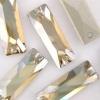 18x 6mm Golden Shadow Crystal